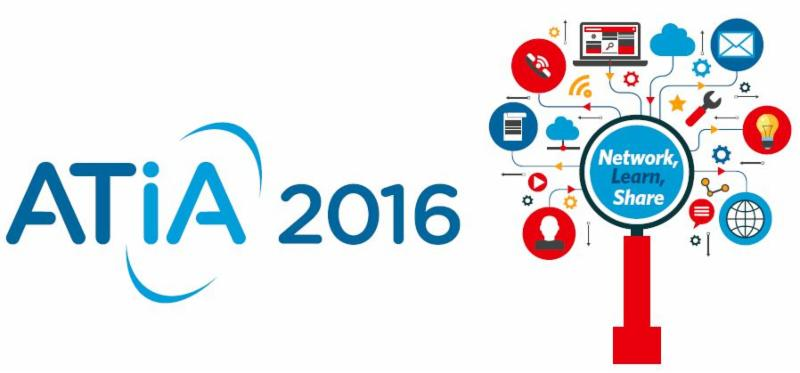 ATIA 2016 Network Learn Share Graphic