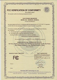 FCC certification of Zoomax low vision aids developer