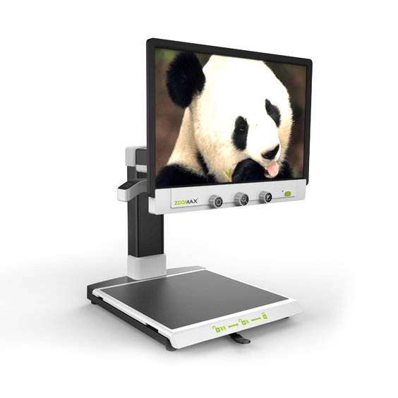 Zoomax desktop video magnifier Panda HD for low vision