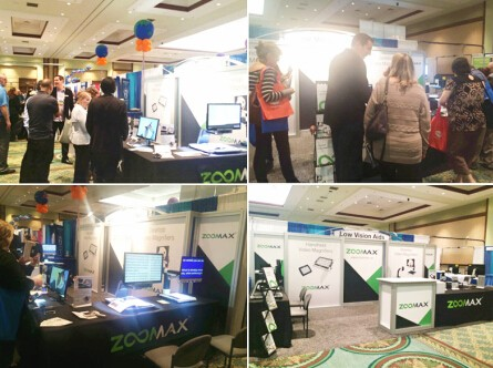 Zoomax low vision aids provider attended ATIA 2015 Orland exhibition