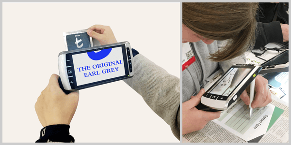 Ergonomic Handle (Standard Accessory)