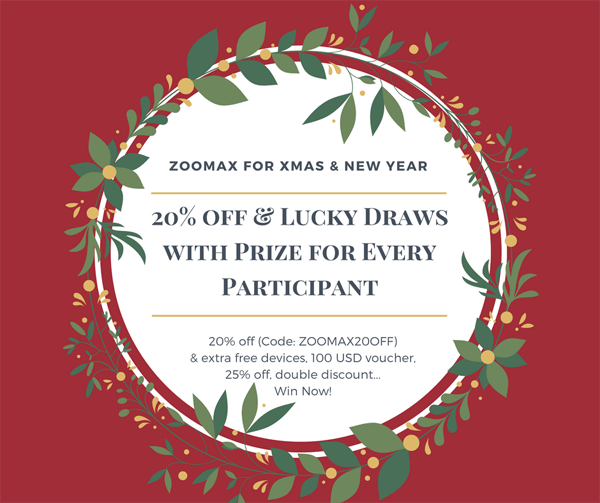 20 percent off Lucky Draws with Prize for Every Participant FB image