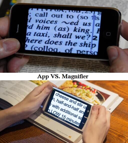 App Vs Video Magnifier