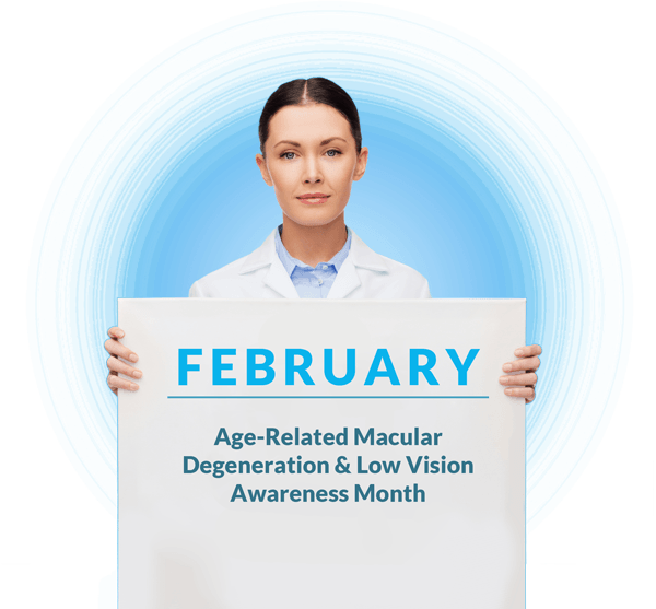 February Is National AMD And Low Vision Awareness Month - Zoomax