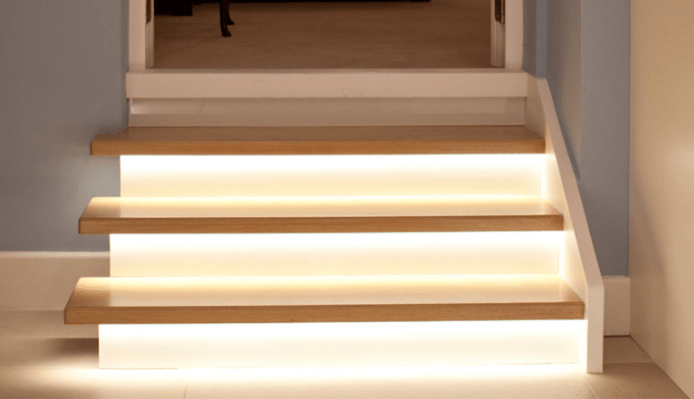Lighting Of Stairs Means A Lot To Low Vision People