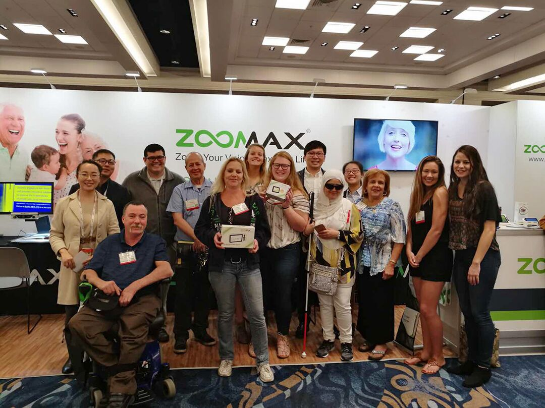 Zoomax in 2017 CSUN exhibit