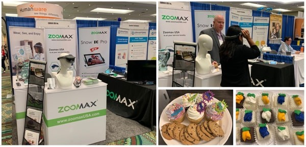 Zoomax Joined ATIA 2019 with Acesight and More