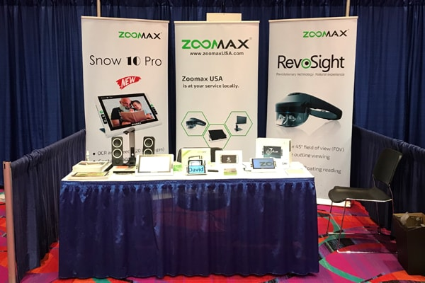 Zoomax USA Exhibited at the AER International Conference 2018