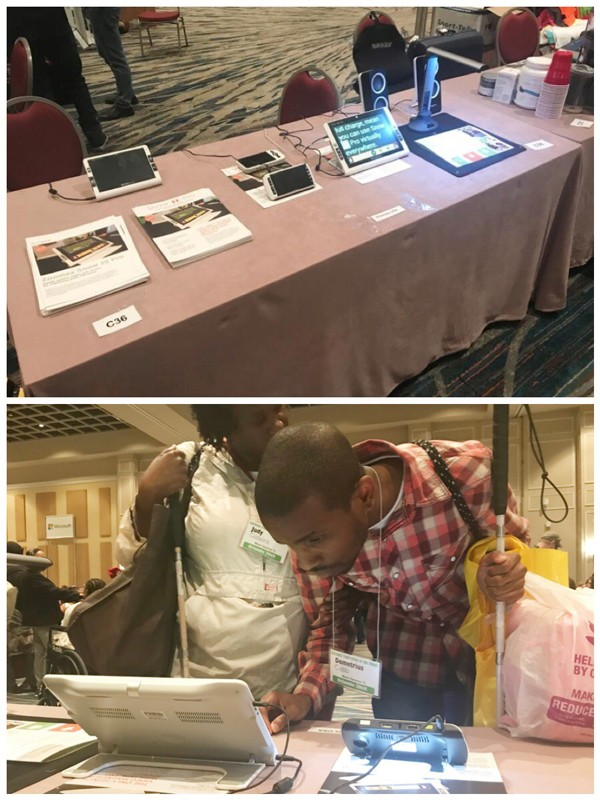 Zoomax USA booth @NFB convention