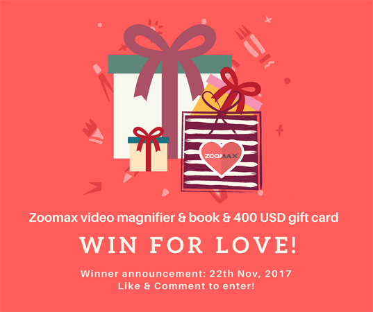 Zoomax win for love lucky draw