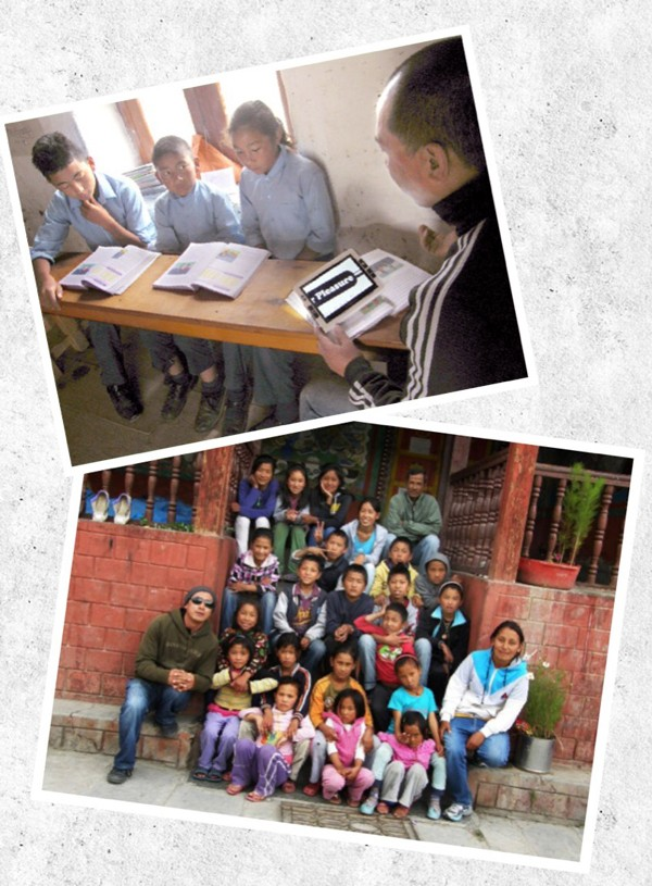 Mohan, children, teachers and cook: the educational project Schule macht Schule is supporting