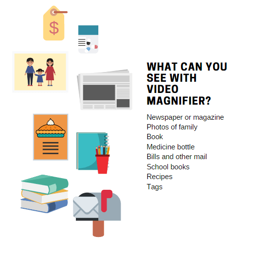 What Can You See With Video Magnifier