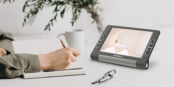 Keep Up With The Modern Life - Zoomax Luna 8 Electronic Video Magnifier For Low Vision