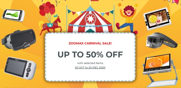Zoomax Carnival Sale Banner For Blog