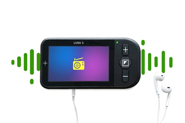 Luna S Electronic Video Magnifier For Low Vision - Voice Control