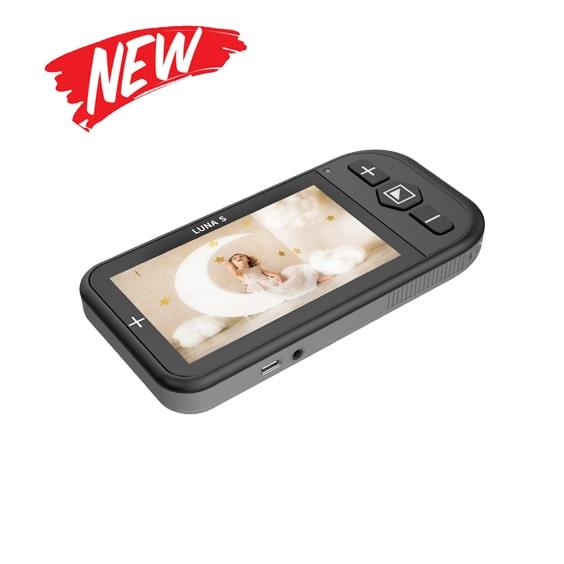 luna s handheld video magnifier zoomax