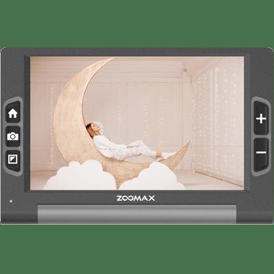 luna 8 handheld video magnifier zoomax